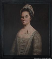 Portrait of Christian Barnes (nee Arbuthnot) by Prince Demah