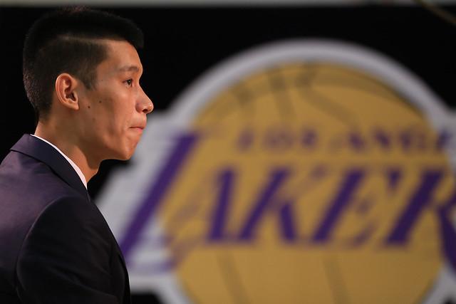 Jeremy Lin Lakers Press Conference