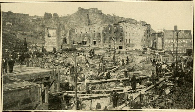 """Image from page 191 of """"A history of the earthquake and fire in San Francisco; an account of the disaster of April 18, 1906 and its immediate results"""" (1906) from Flickr via Wylio"""