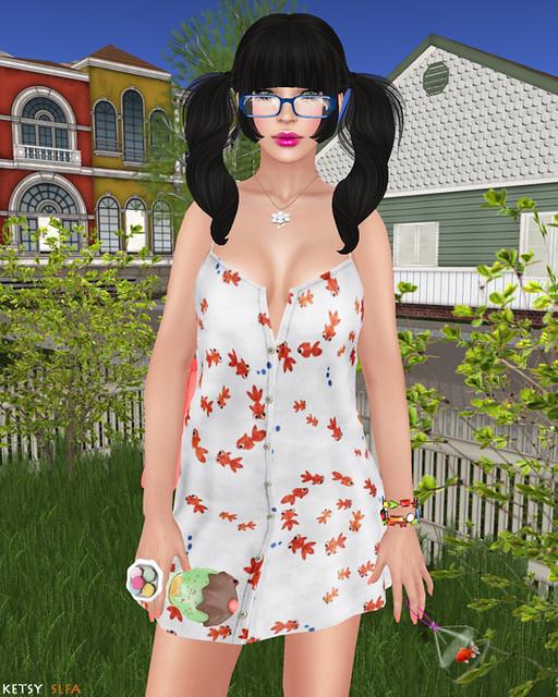 Hair Fair - Fun With Freddy The Fish (New Post @ Second Life Fashion Addict)