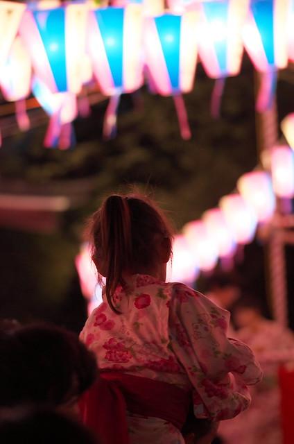 平成26年(2014年)諏方神社納涼踊り大会 2014年7月27日