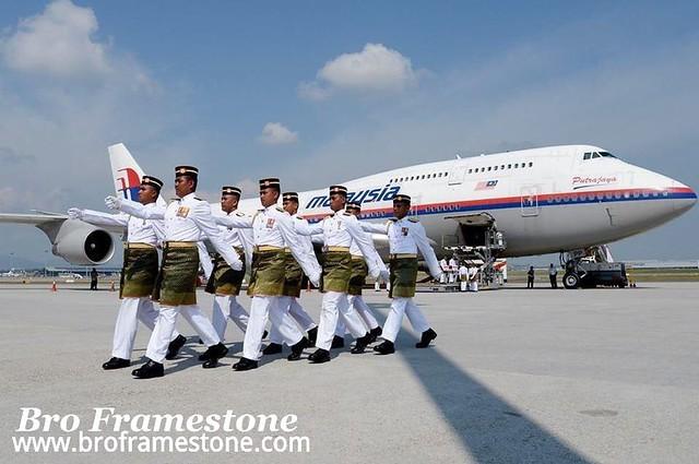Istiadat Penghormatan Tragedi MAS MH17