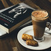 When in doubt have a cappuccino and grab a book.