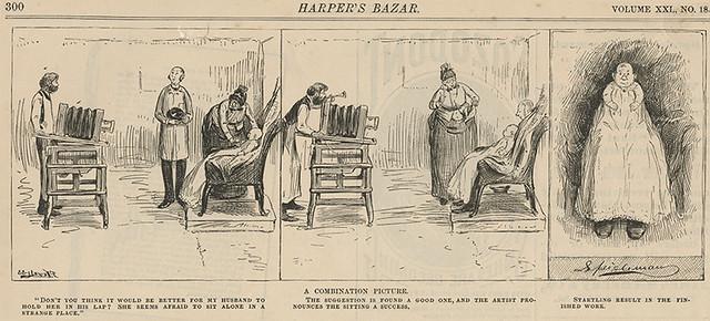 Hidden Father Cartoon - 1888