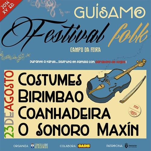 Bergondo 2014 - Festival Folk de Guísamo - cartel