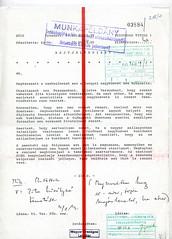 101. A bécsi magyar nagykövet rejtjeltávirata esetleges részvételéről Zita királyné temetésén