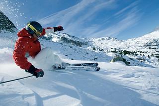 Numerosos puntos en los que practicar el esquí.