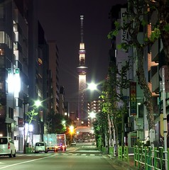 Tokyo Skytree. 東京スカイツリー