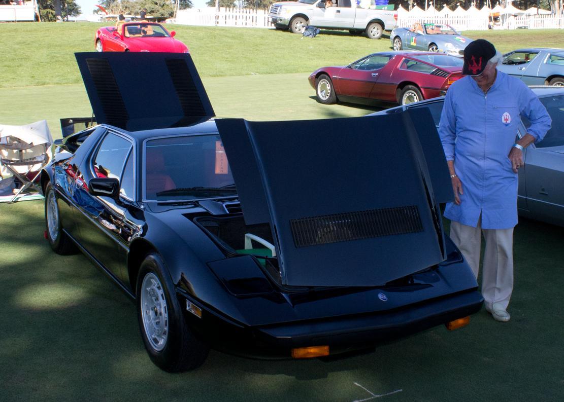 Italian Concours Maserati Merak SS Black Bruce