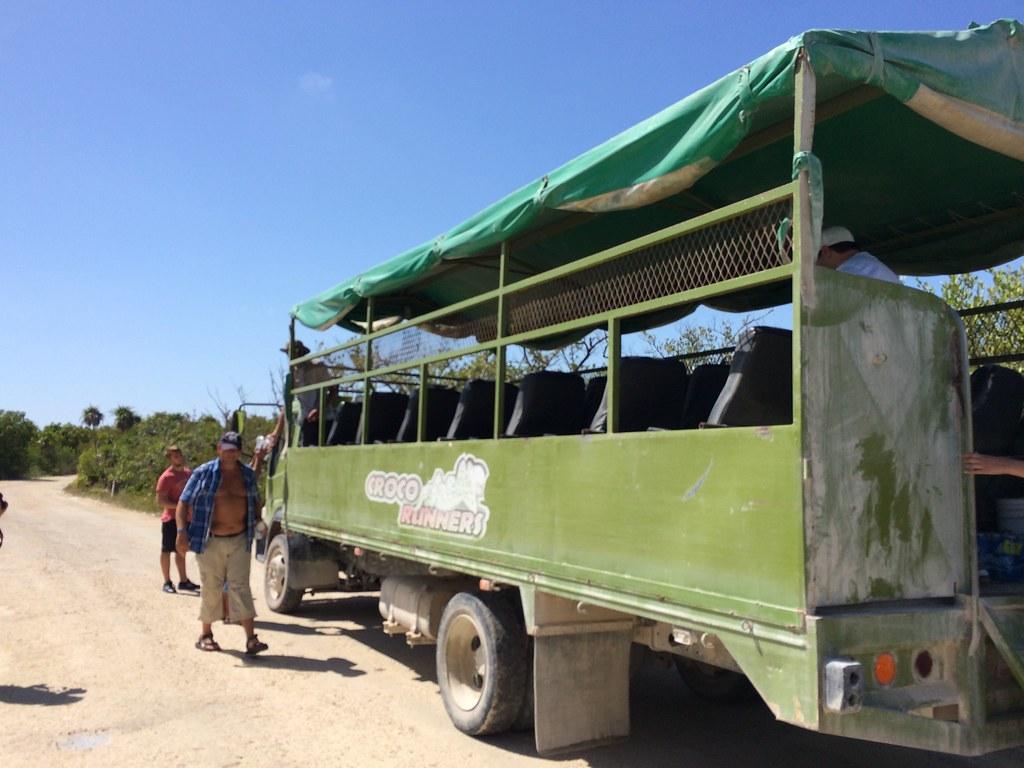 Sian Ka'an - véhicule