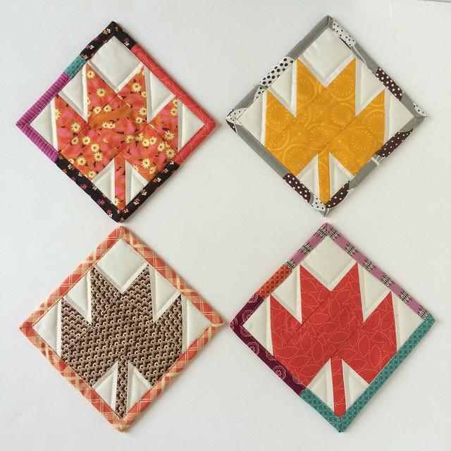 Maple leaf minis