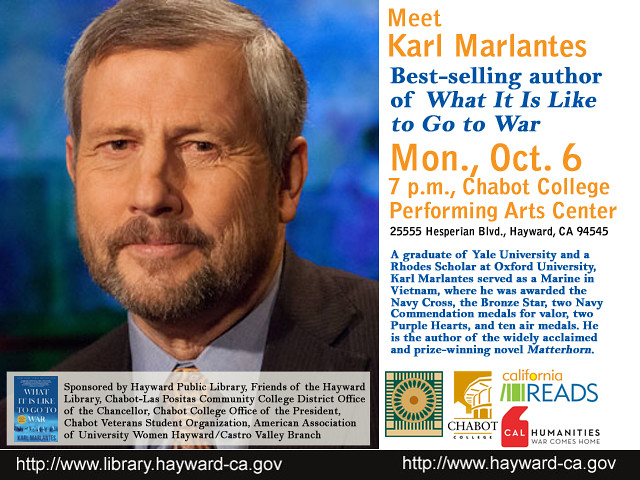 California Reads - Meet Karl Marlantes, Author of What It Is Like to Go to War