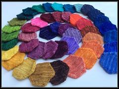 Three Fates Yarn - A Rainbow from Minis
