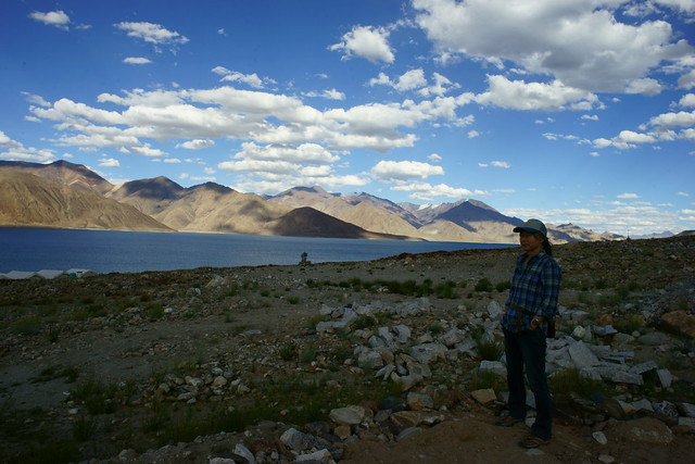 Pangong-Tso lake. Ladakh, 09 Aug 2014. 464