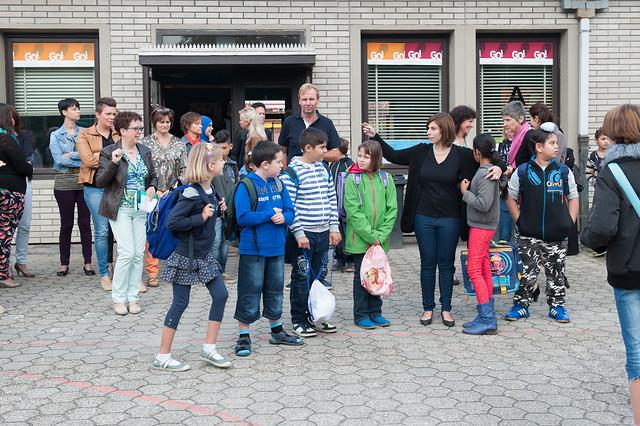 Eerste schooldag @ Schakelschool