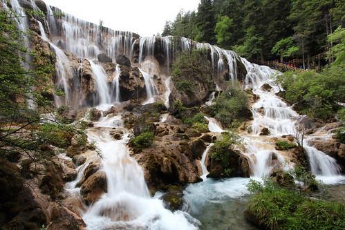 china trip travel vacation nature canon landscape asian waterfall asia view may scene adventure explore 5d sichuan jiuzhaigou luk fionn