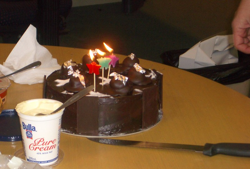 Daniel's birthday cake, 2004