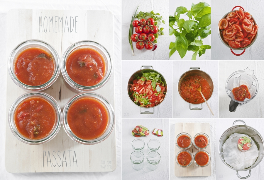 VEGAN DIY: Homemade passata
