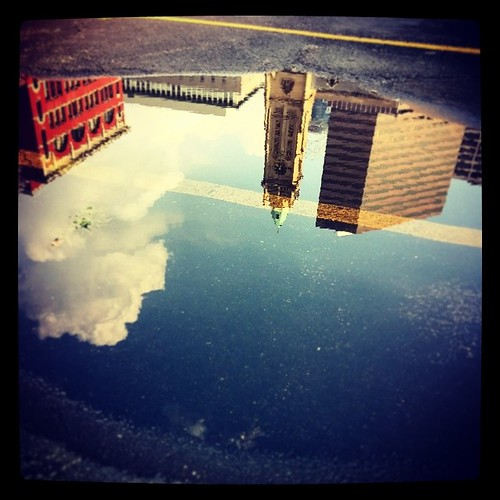 Reflections of downtown Cincinnati...
