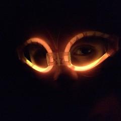 Glow mask on a Lily. <3