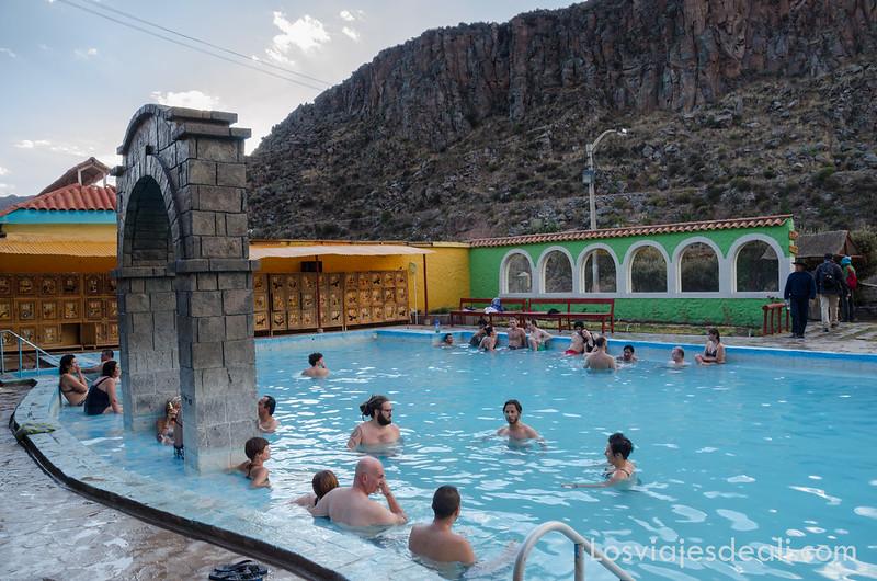 piscinas termales en chivay los pueblos del valle del Colca