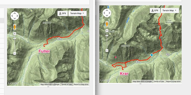 Leadville Route Comparison