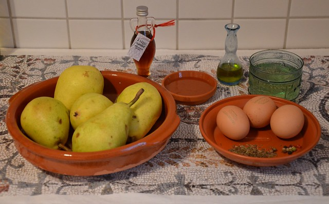Patina de piris (pear soufflé) - Ingredients