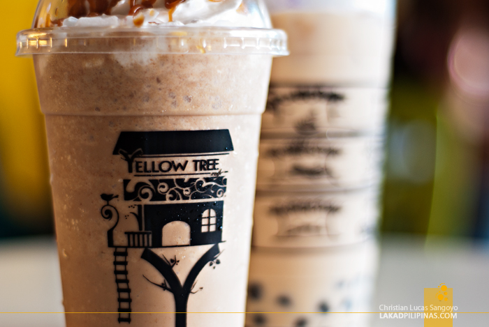 Frappes at Dagupan's Yellow Tree Café