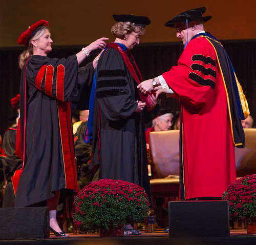 Susan Sciame-Giesecke installed as IU Kokomo's seventh chancellor