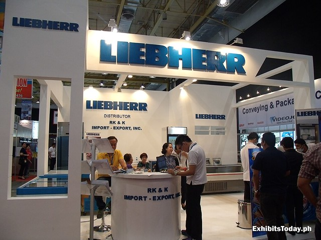 Liebherr Trade Show Display