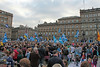George Square Yes Scotland rally