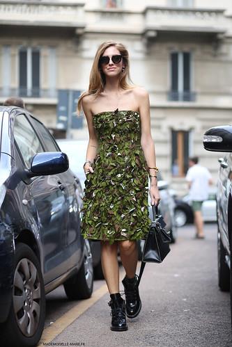 Chiara Ferragni, Milan fashion week