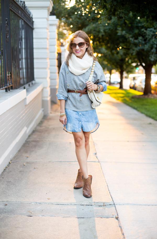 H&M Fall Fashion in Sunglight