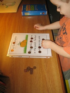 P is for Pumpking Letter Hunt (Photo from This Reading Mama)