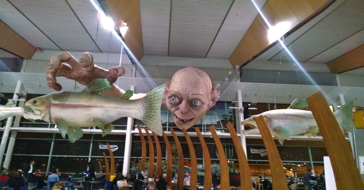 Wellington Airport Food Court