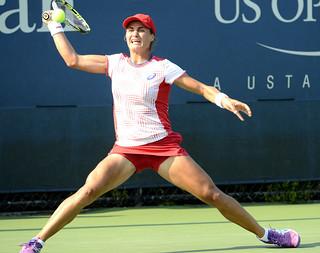 2014 US Open (Tennis) - Tournament - Monica Niculescu