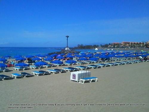 Playa Las Vistas, Los Cristianos