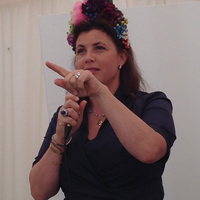 Kirstie Allsopp at The Handmade Fair