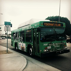 Kinda gloomy outside...fall is in the air?  #CulverCity #buses #westLA #transitbros #LosAngeles