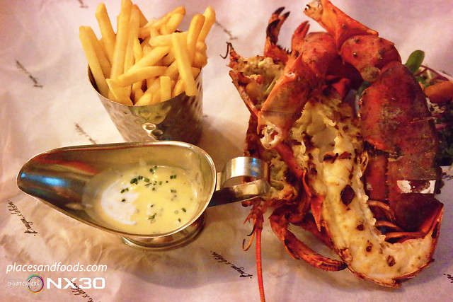 london burger and lobster grilled lobster