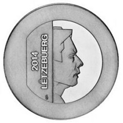 Luxembourg Stainless Steel Coin obverse