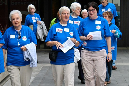 Nuns on the Bus Voter Registration Project