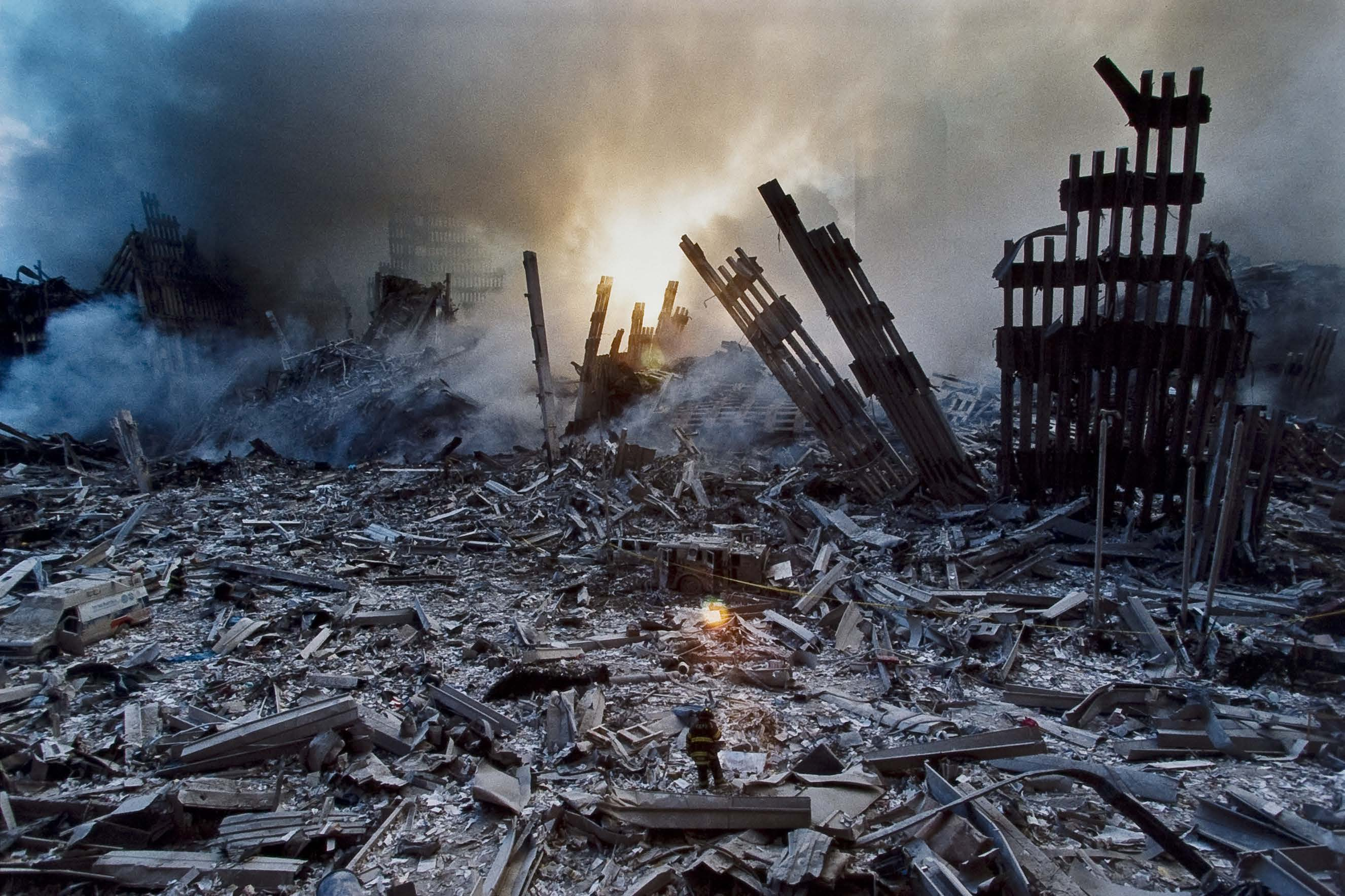 Aftermath of 9-11
