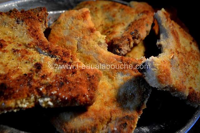 Côtelettes de Porc Panées  Fourrées au fromage et au Basilic © Ana Luthi Tous droits réservés 021_GF
