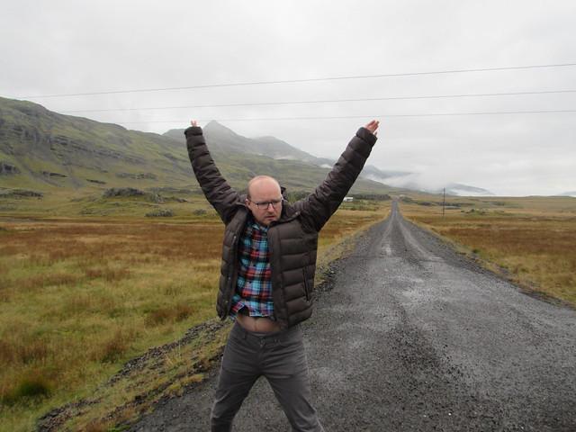 Stephen exercise Iceland