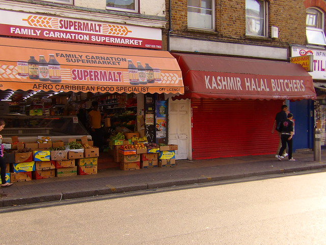 More ethnic groceries, Peckham