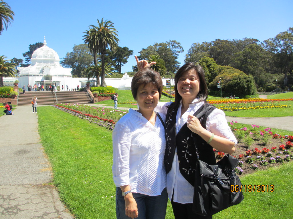 moms, Conservatory of Flowers
