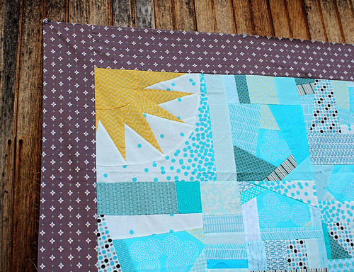 Farmhouse Quilt Improv Sun and Sky