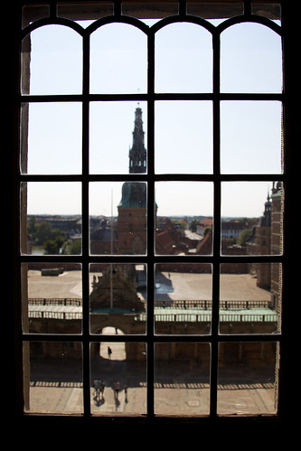 castle window denmark view frederiksborgcastle hillerødmunicipality