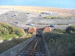 The Leas Cliff Railway